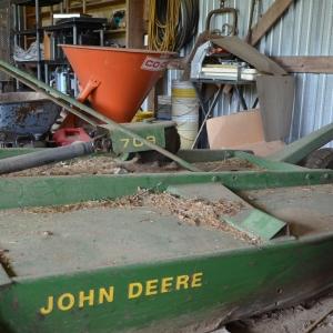 John Deere Bushhog | John Deere 709 3 point Bushhog