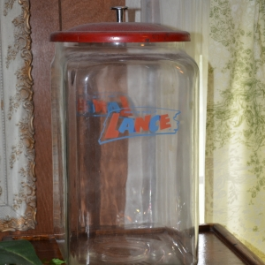 Cainsville Rd Lebanon TN Estate Auction Antique Lance Jar |