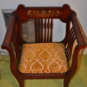 Cainsville Rd Lebanon TN Estate Auction Antique Chair |
