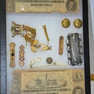 Confederate Money & Civil War Era Jewelry | Downtown Antique Mall