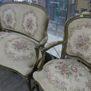 3 Piece French Parlor Set | Downtown Antique Mall