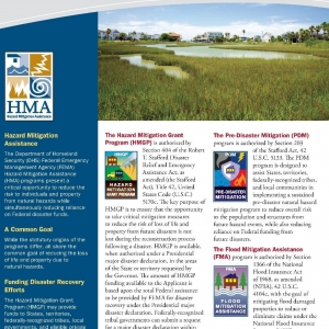 FEMA Grant Programs | FEMA  The Hazard Mitigation Assistance Grant Programs