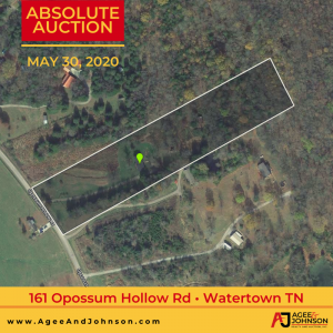 161 Opossum Hollow Rd Absolute Auction | 5 Beautiful Acres in Watertown TN3 bedroom and 2 bath