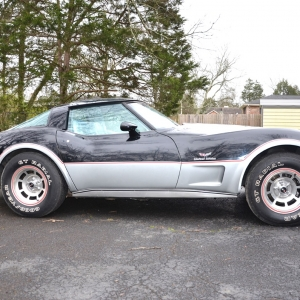 1978 Corvette Pace Car | Reynolds Absolute Auction 1978 Pace Car with 7600