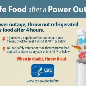 Eat Safe Food | Eat Safe after Power OutageCDC Food Safety