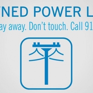 Power Line Down | Power Line Down Call 911