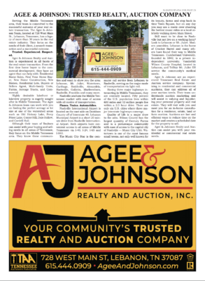 The Chronicle of Mt Juliet 2019 Business Review Article