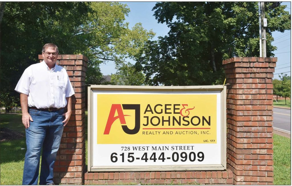 Broker Owner Jay White with Agee & Johnson Realty and Auction
