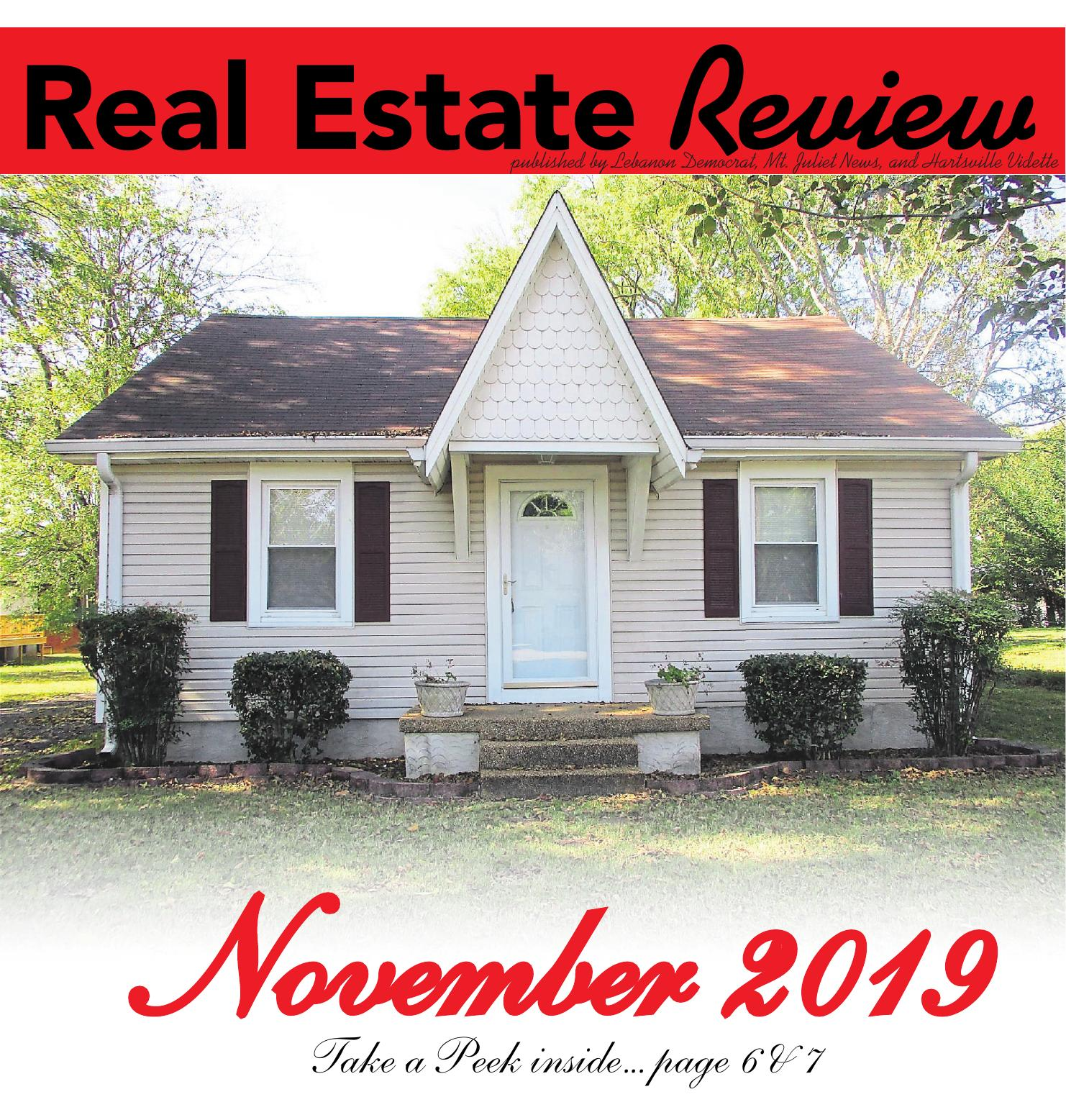 Real Estate Review November 2019 Lebanon Democrat