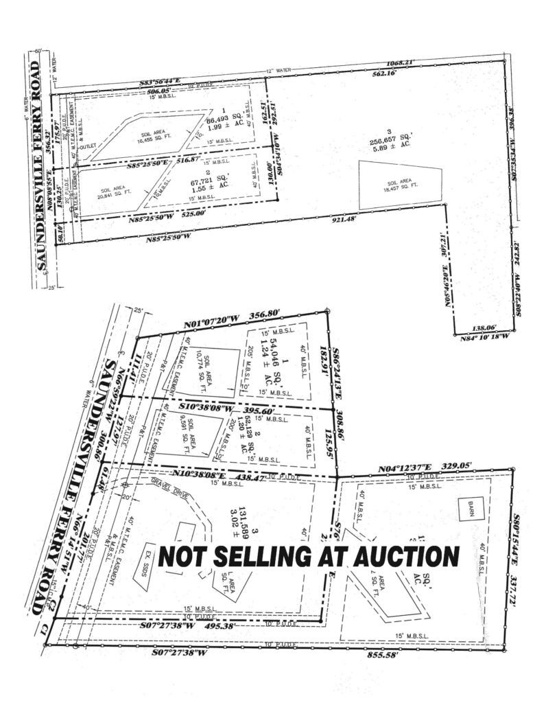 3244 Saundersville Ferry Absolute Auction Rd