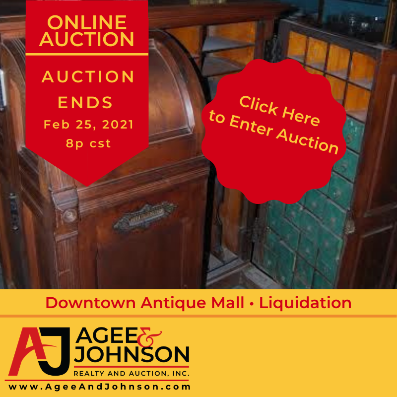 Downtown Antique Mall Online Auction