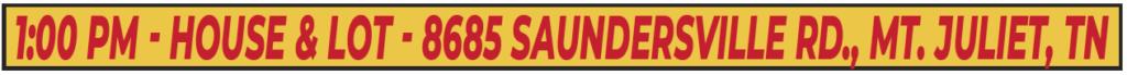 8685 Saundersville Rd • Mt Juliet